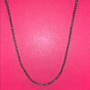 Jewelry - Small Cable Link Chain Adjustable